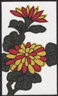Third card of September in the Club Nintendo Hanafuda deck.