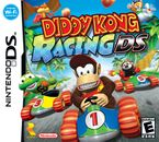 The North American front box art for Diddy Kong Racing DS