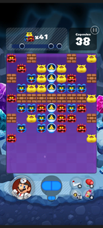 Stage 481 from Dr. Mario World