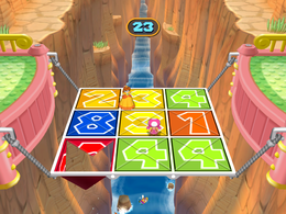 Wario drowning in The Final Countdown from Mario Party 7