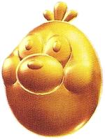 Artwork of Gold Gummit from Super Mario Galaxy 2