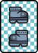 A Iron Jump ×2 Card in Paper Mario: Color Splash.