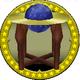 A figure of Kamek's Star Globe.