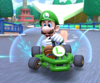 Thumbnail of the Luigi Cup challenge from the 2nd Anniversary Tour; a Time Trial bonus challenge set on Berlin Byways 2