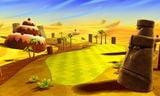 Layer-Cake Desert in Mario Golf: World Tour
