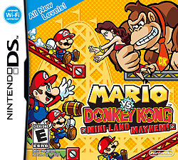 Mario vs. Donkey Kong: Mini-Land Mayhem! Boxart.