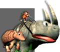 Rambi and Diddy Art - Donkey Kong Racing.png