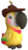 Talkatoo's model from Super Mario Odyssey.