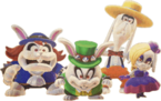 The Broodals in Super Mario Odyssey.
