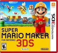Super Mario Maker for Nintendo 3DS North American box art