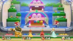 Feeding Friendsy minigame from Super Mario Party