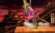 Suzaku Castle in Super Smash Bros. for Nintendo 3DS