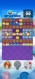 Stage 164 from Dr. Mario World since March 18, 2021