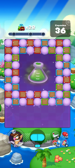 Stage 626 from Dr. Mario World