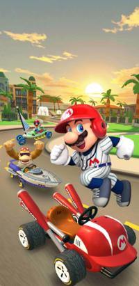 The 2021 Los Angeles Tour from Mario Kart Tour