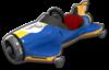 Mach 8 body from Mario Kart 8