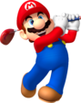 Mario artwork from Mario Golf: World Tour.