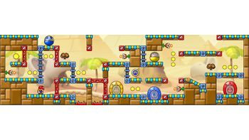 Miiverse screenshot of the 74th official level in the online community of Mario vs. Donkey Kong: Tipping Stars