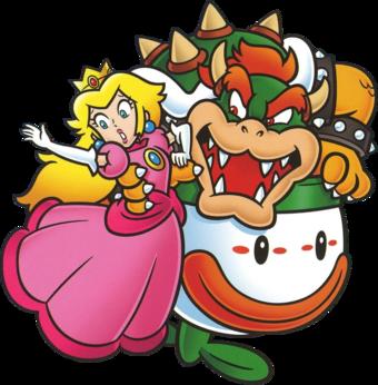 Princess Peach & Bowser
