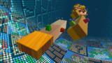 """A screenshot of Twisty Trials Galaxy during the """"Spinning and Spinning and Spinning"""" mission from Super Mario Galaxy 2."""