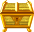 Rendered model of the Gold Treasure Box in Super Mario Galaxy.