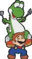 SMWGPB4 Yoshi Riding Mario.png