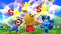 Challenge 84 from the ninth row of Super Smash Bros. for Wii U