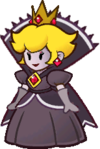 Shadow Queen idle pose from Paper Mario: The Thousand-Year Door