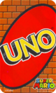 The back of the UNO Super Mario cards.