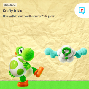 Icon for Yoshi's Crafted World Trivia Quiz