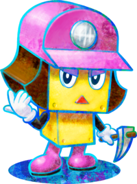 Character artwork from Mario & Luigi: Dream Team