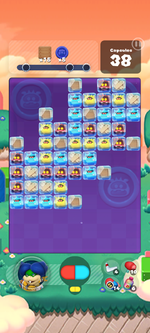 Stage 594 from Dr. Mario World