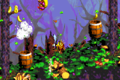 Gusty Glade DKC2 GBA Barrel Cannons.png