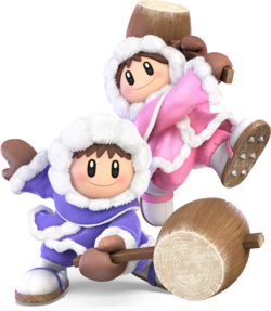 Ice Climbers from Super Smash Bros. Ultimate