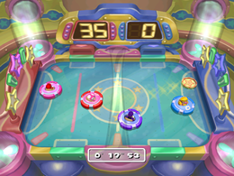 Wario in Ice Moves from Mario Party 7