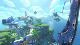 Big Blue, from Mario Kart 8 - Animal Crossing × Mario Kart 8 downloadable content.