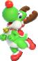 Yoshi (Reindeer) from Mario Kart Tour