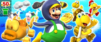 The Undersea Pipe from the Marine Tour in Mario Kart Tour
