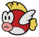 A Cheep Cheep from Paper Mario: Color Splash