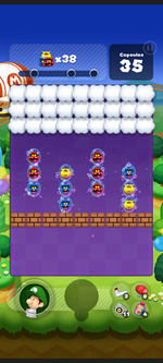Stage 271 from Dr. Mario World