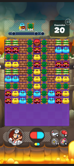 Stage 434 from Dr. Mario World