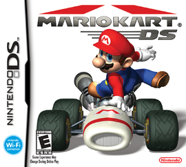 The North American Boxart for Mario Kart DS.