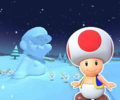 N64 Frappe Snowland R from Mario Kart Tour