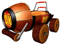 Artwork of the DK Jumbo from Mario Kart: Double Dash!!