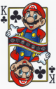 The King of Clubs card from the NAP-02 deck.