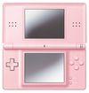 A pink Nintendo DS Lite
