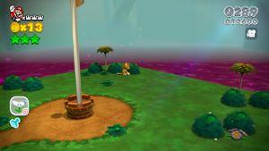 Luigi sighting found in Deep Jungle Drift in Super Mario 3D World.