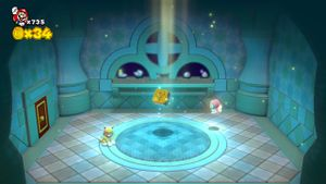 World Star Sprixie House in Super Mario 3D World