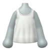 """The """"White Camisole"""" Mii top"""