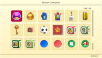 Stickers (page 5) in Super Mario Party